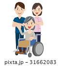 人物 車いす 介護のイラスト 31662083