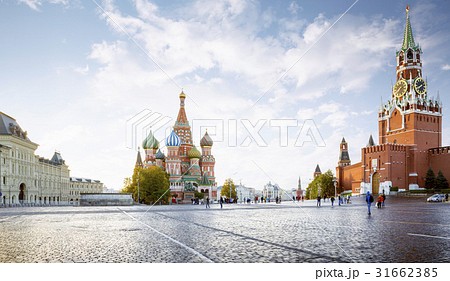 Panorama of Red Square in Moscow, Russia 31662385