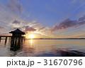 浮御堂の夜明け 31670796