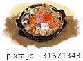 鍋物 和食 鍋のイラスト 31671343