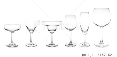 cocktail glass collection most popular cocktail の写真素材 [31671621] - PIXTA