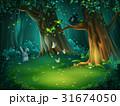 森林 林 森のイラスト 31674050