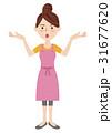 女性 主婦 若いのイラスト 31677620