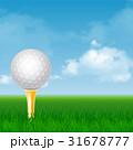 GOLF ゴルフ ベクトルのイラスト 31678777