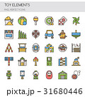Toy Elements , Thin Line and Pixel Perfect Icons 31680446