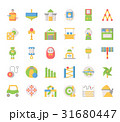 Toy Elements , Thin Line and Pixel Perfect Icons 31680447