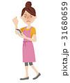 人物 女性 ベクターのイラスト 31680659
