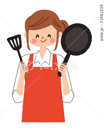 女性 料理 イラスト 31681039
