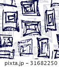 Ink hand drawn abstract seamless pattern 31682250