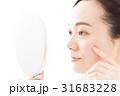 女性 人物 鏡の写真 31683228