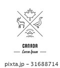 Vector Line Banner Canada 31688714