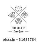 チョコレート ベクタ ベクターのイラスト 31688784