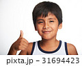 thumb up of boy 31694423