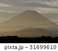 精進湖の朝富士 31699610