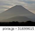 精進湖の朝富士 31699615