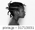African kid portrait shoot with side view 31713031