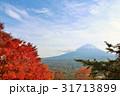富士山 晴れ 秋の写真 31713899