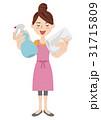 若い主婦イメージ 31715809