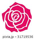赤いバラ 31719536