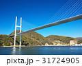 風景 女神大橋 橋の写真 31724905