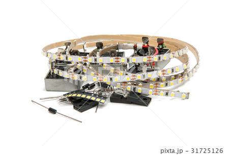 Radio parts isolatedの写真素材 [31725126] - PIXTA