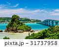 沖縄県 古宇利大橋 海の写真 31737958