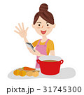 人物 女性 主婦のイラスト 31745300