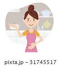 人物 女性 主婦のイラスト 31745517