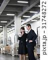 倉庫 男性 女性の写真 31748272
