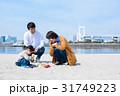 家族 お出かけ 海の写真 31749223