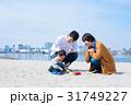 家族 お出かけ 海の写真 31749227