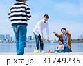 家族 お出かけ 海の写真 31749235