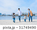 家族 散歩 海の写真 31749490
