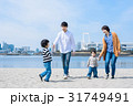 家族 お出かけ 海の写真 31749491