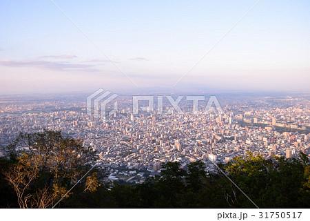 藻岩山から見た札幌の景色 31750517