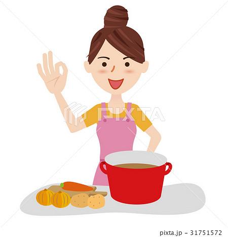 若い主婦 キッチン 31751572