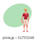 サッカー フットボール 蹴球のイラスト 31753246