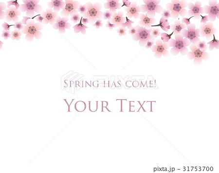 桜の背景 8のイラスト素材 [31753700] - PIXTA
