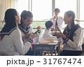 高校生 教室 昼休みの写真 31767474