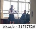 女子高生 吹奏楽部 フルートの写真 31767529