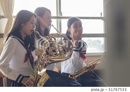吹奏楽部の練習風景 31767533