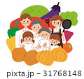 家族 三世代 野菜のイラスト 31768148