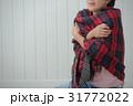 女性 寒い 悪寒の写真 31772022