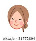 女性 人物 顔のイラスト 31772894