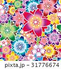 桜 パターン  31776674