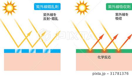 紫外線吸収剤 紫外線錯乱剤 31781376