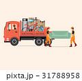 トラック 移動 動きのイラスト 31788958