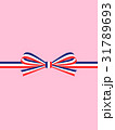 ギフト包装:フランス国旗模様のリボン 31789693
