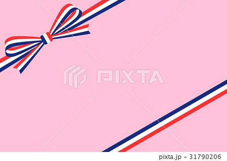 ギフト包装:フランス国旗模様の...