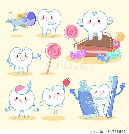 tooth with health concept 31793646